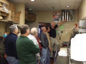 Phil teaching a Fire Investigation course
